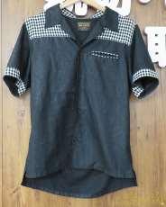 4Bショートスリーブシャツ MR.OLIVE