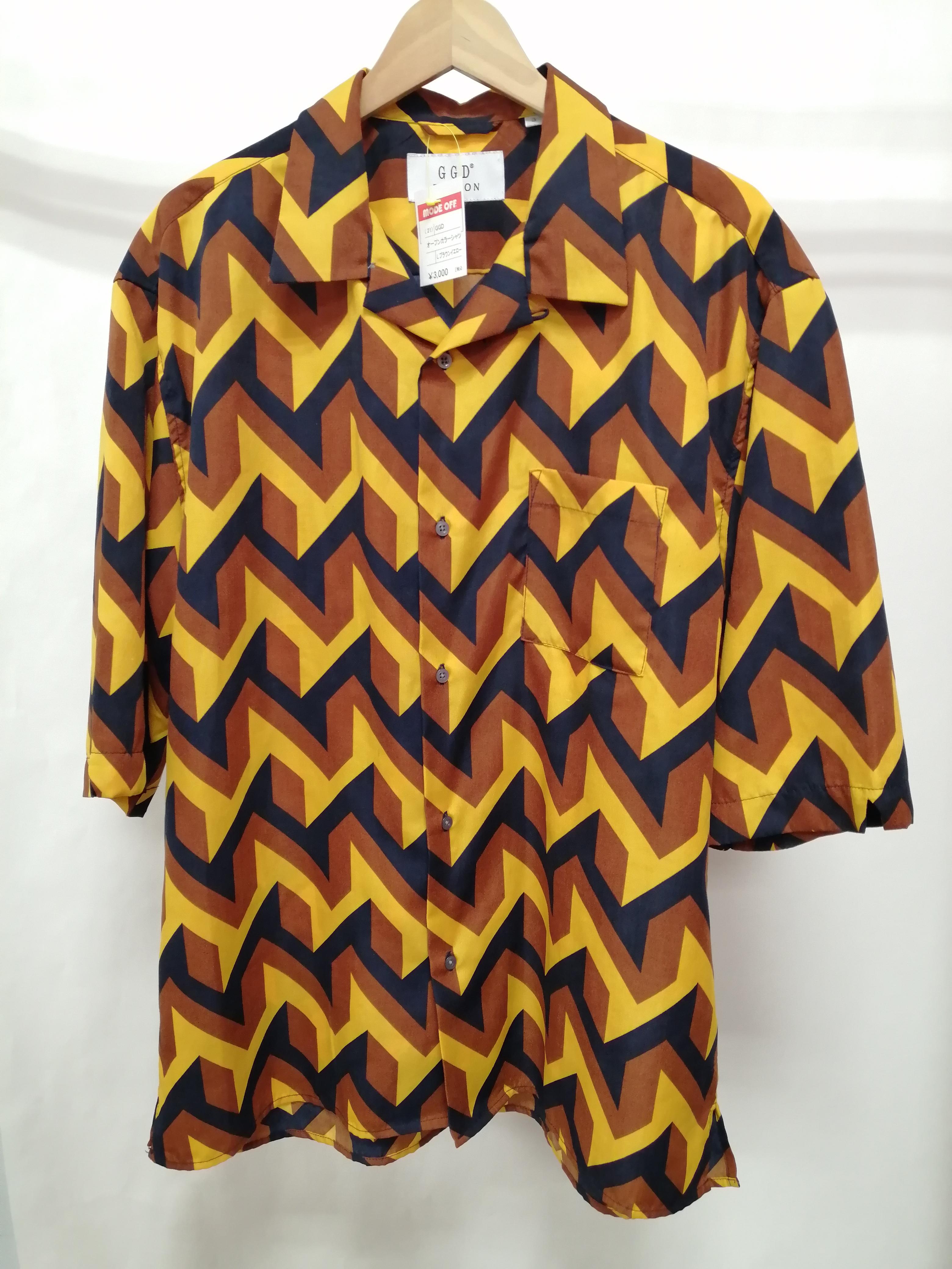 オープンカラーシャツ|GGD