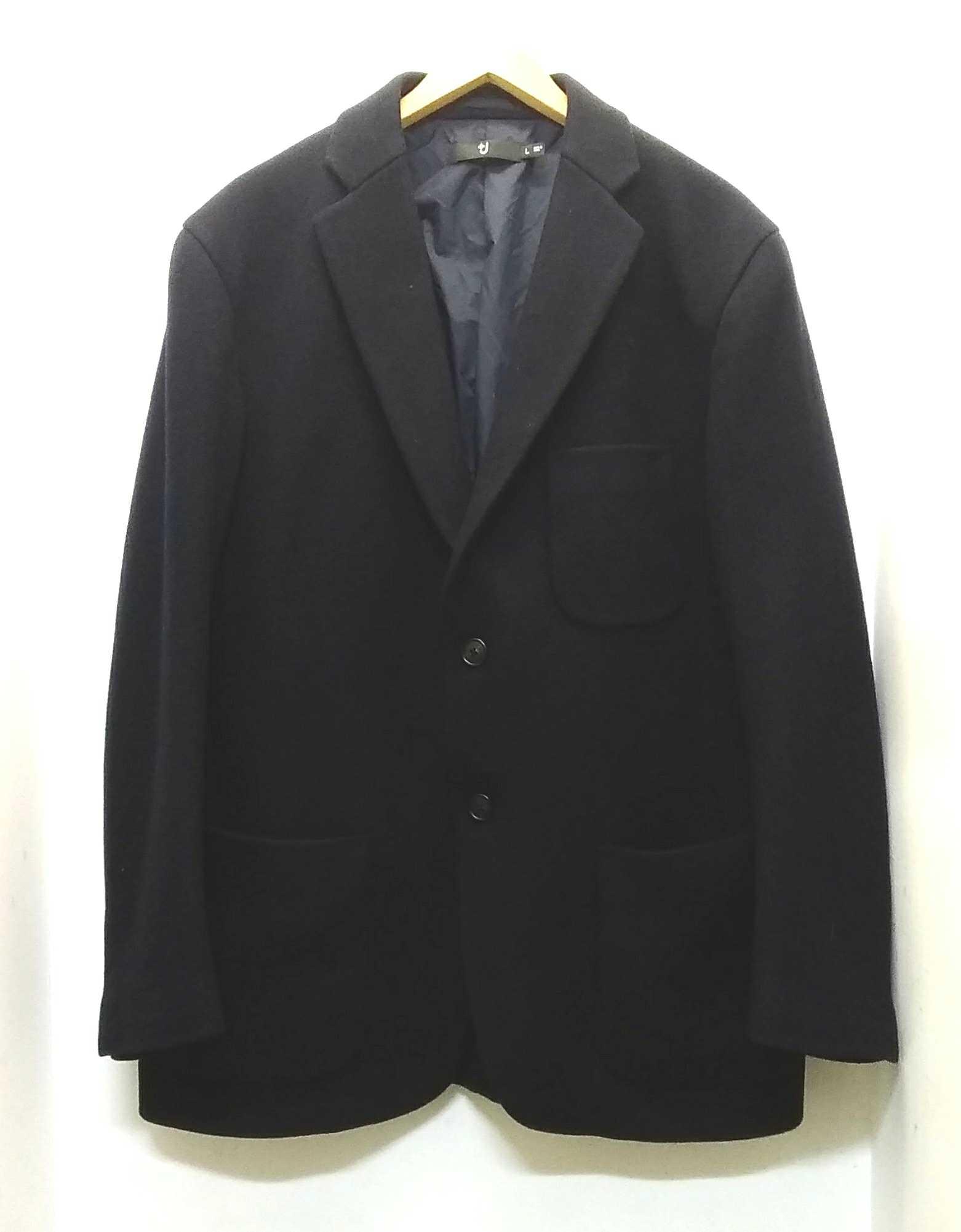 ウールブレンドオーバーサイズジャケット|+J