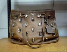 レザーハンドバッグ|PRADA
