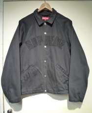Snap Front Twill Jacket|SUPREME