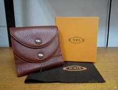 二つ折り財布|TOD'S