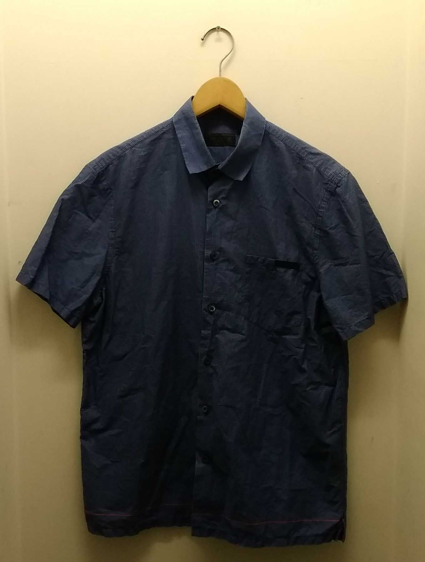 半袖チェックシャツ|PRADA