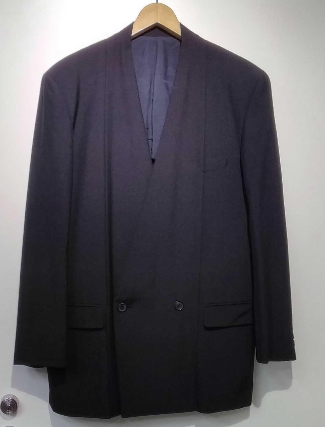 ダブルブレストスーツ ISSEY MIYAKE MAN