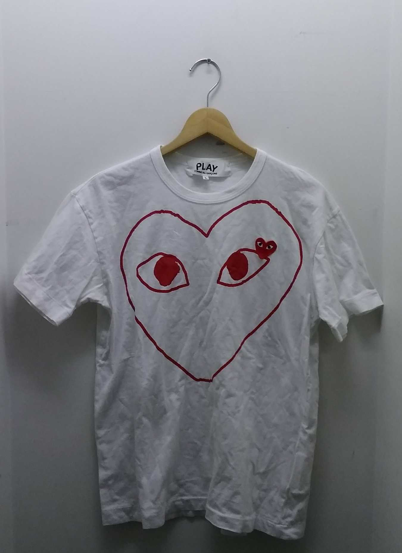 PLAY TEE|PLAY COMME DES GARCONS