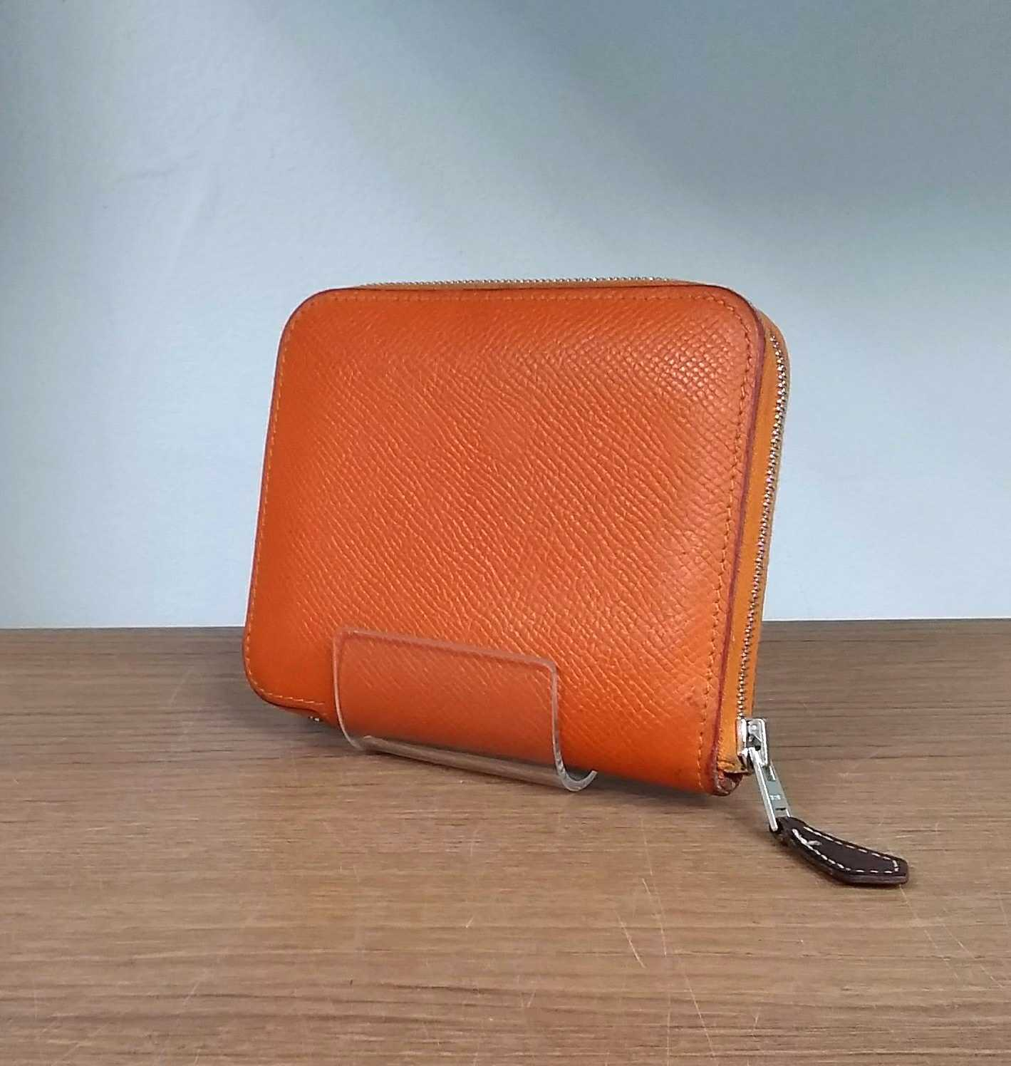 SILK IN COMPACT WALLET|HERMES