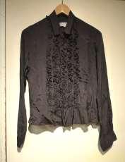 LSオープンカラーデザインシャツ|ROBE DE CHAMBLE COMME DES GARC