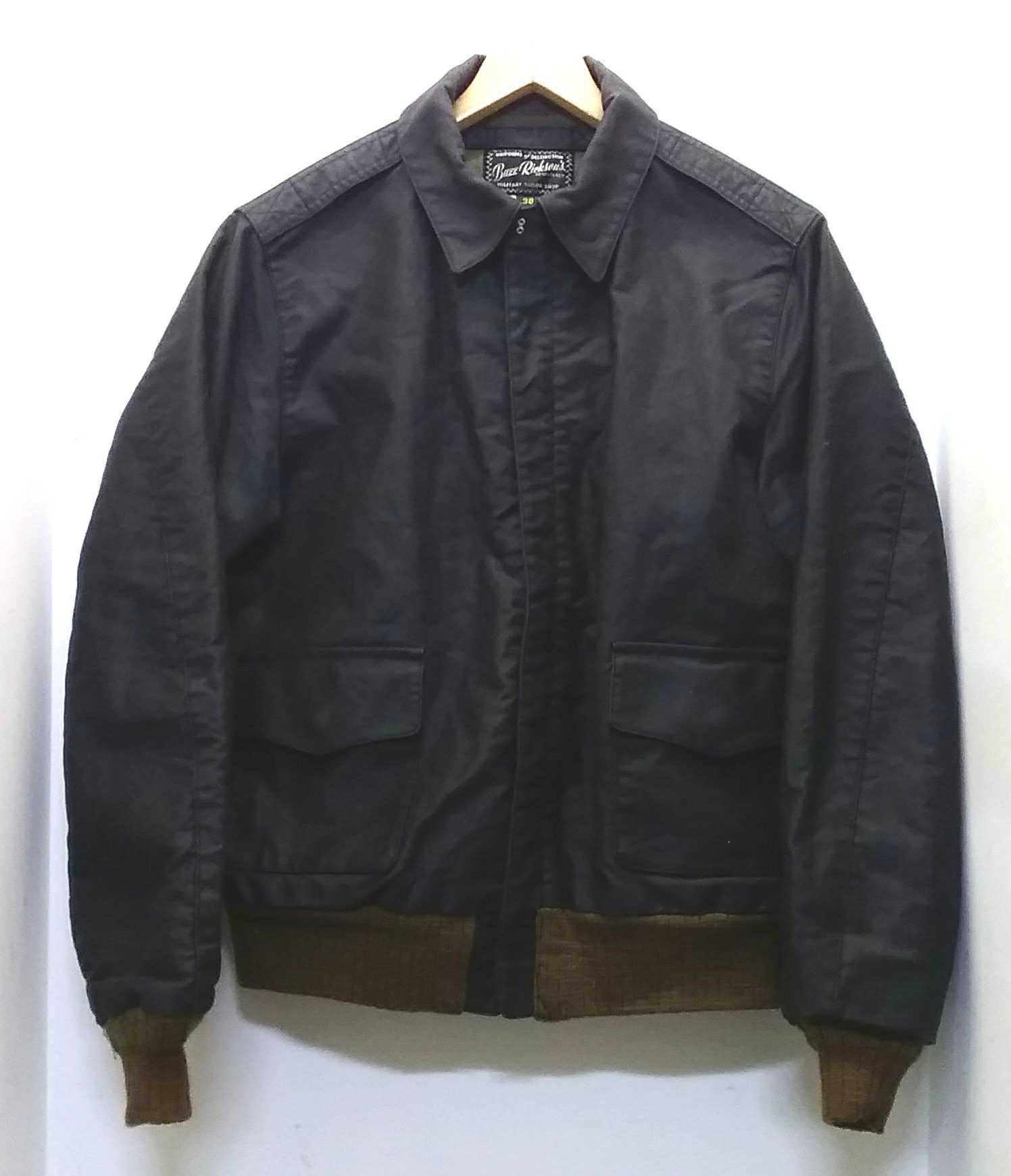 JUNGLE CLOTH BLACK A-2|BUZZ RICKSON'S