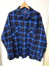 オープンカラーチェックシャツ PENDLETON
