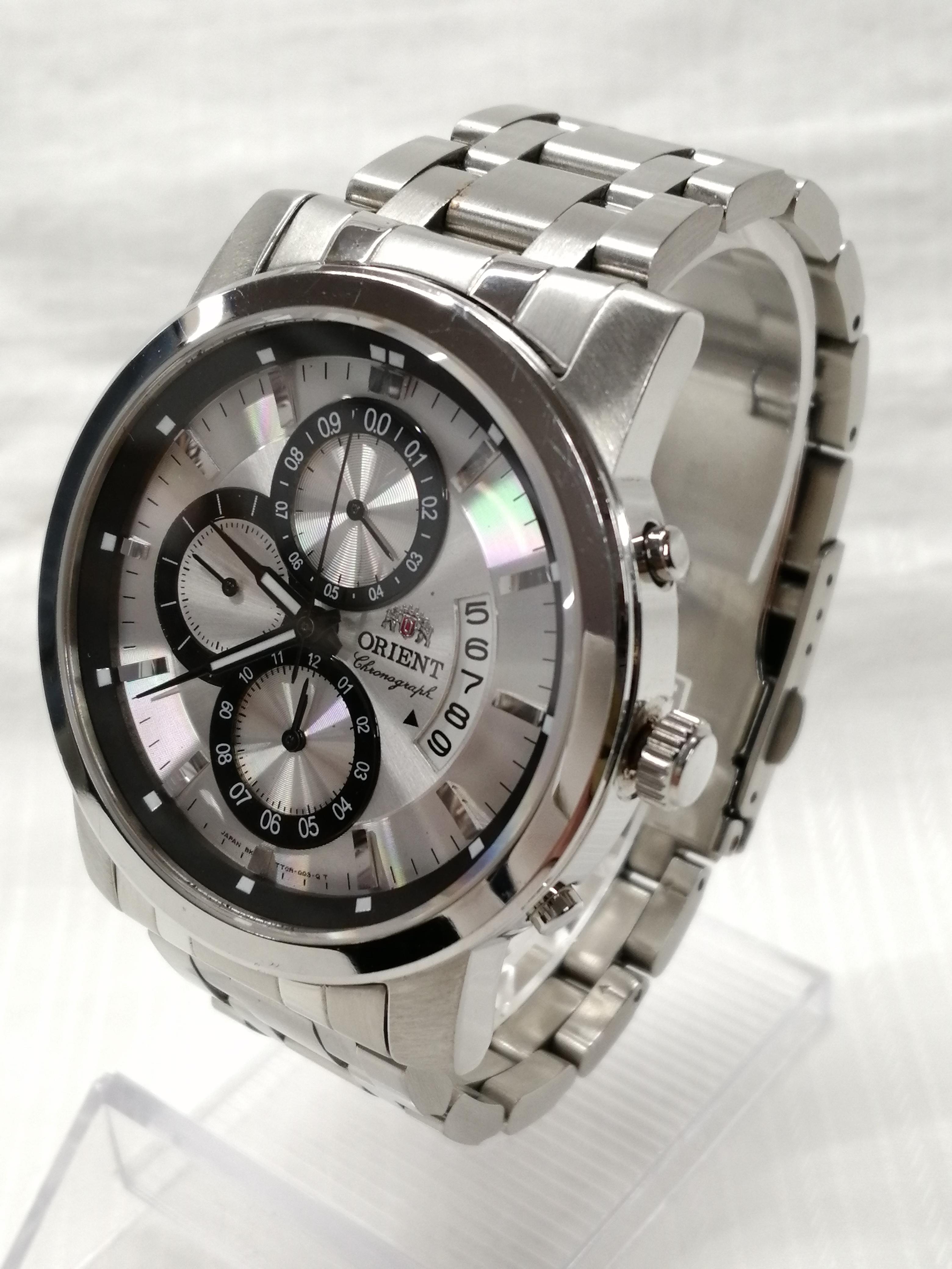 クォーツアナログステンレス腕時計|ORIENT