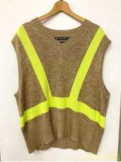 SAFETY LINEN KNIT VEST|SASQUATCH FABRIX