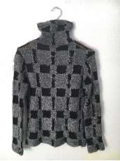 BLOCK CUT JACQUARD HIGHT NECK|Y'S