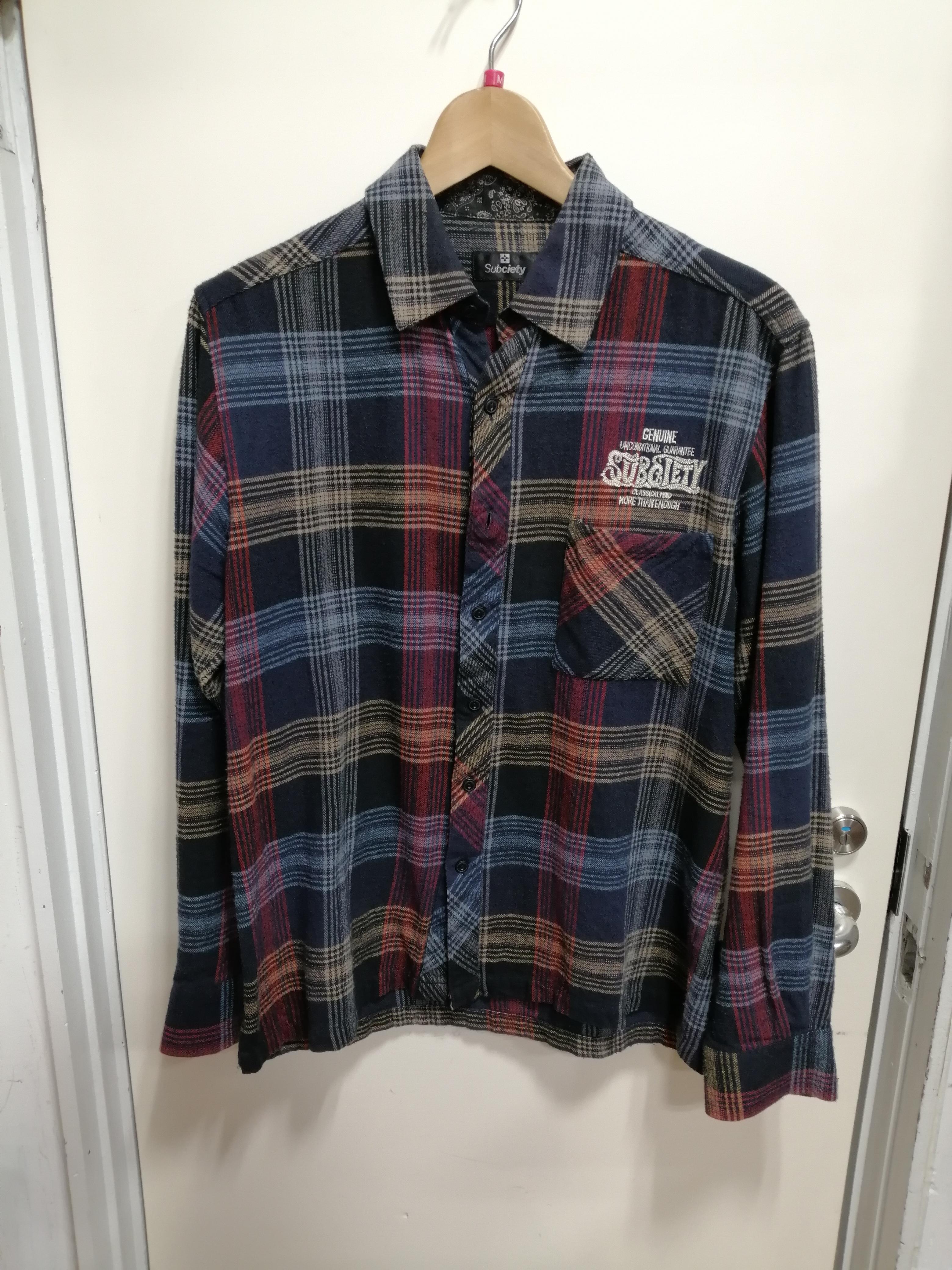 チェックシャツ SUBCIETY
