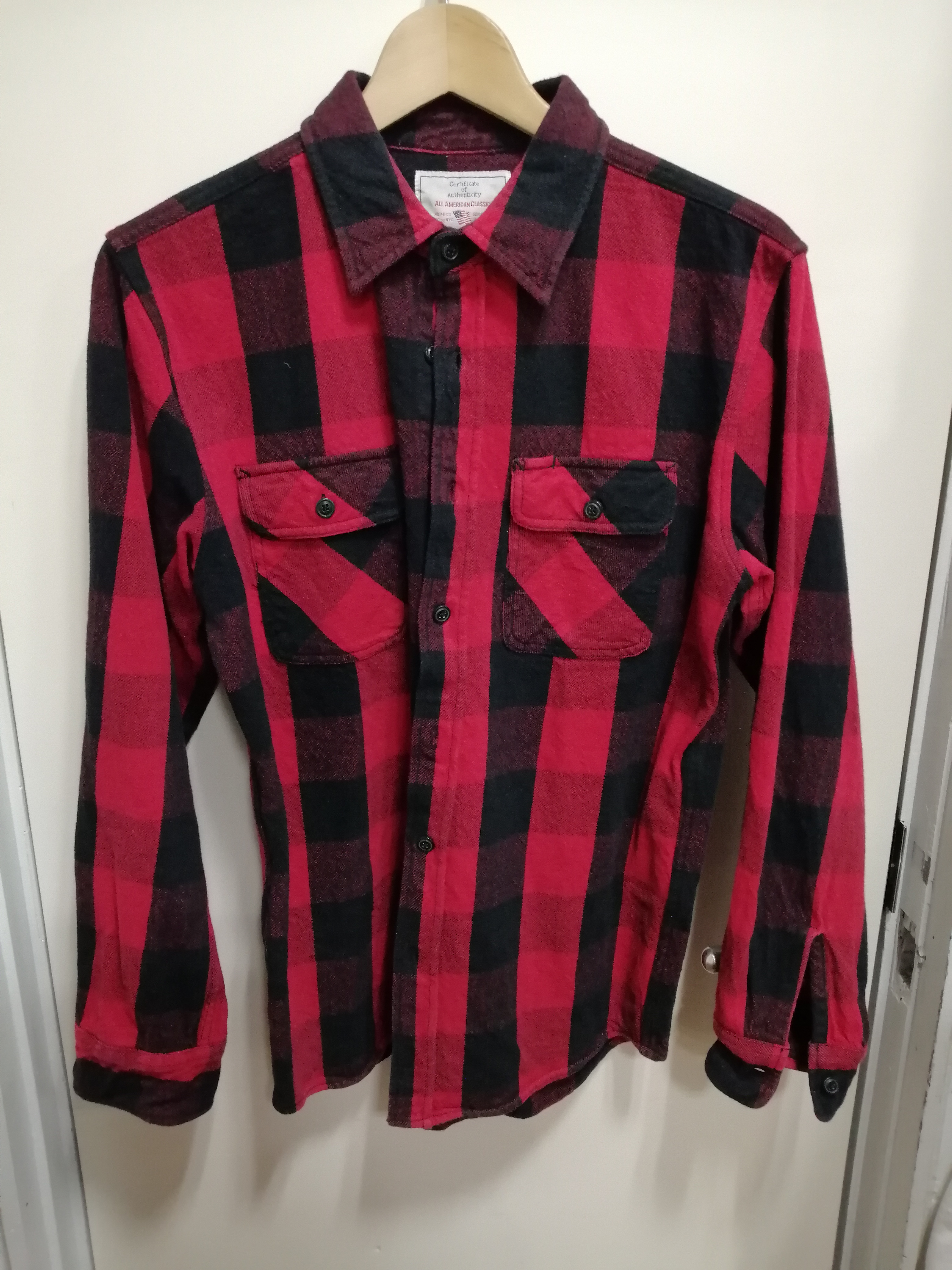 2Pネルシャツ AVIREX