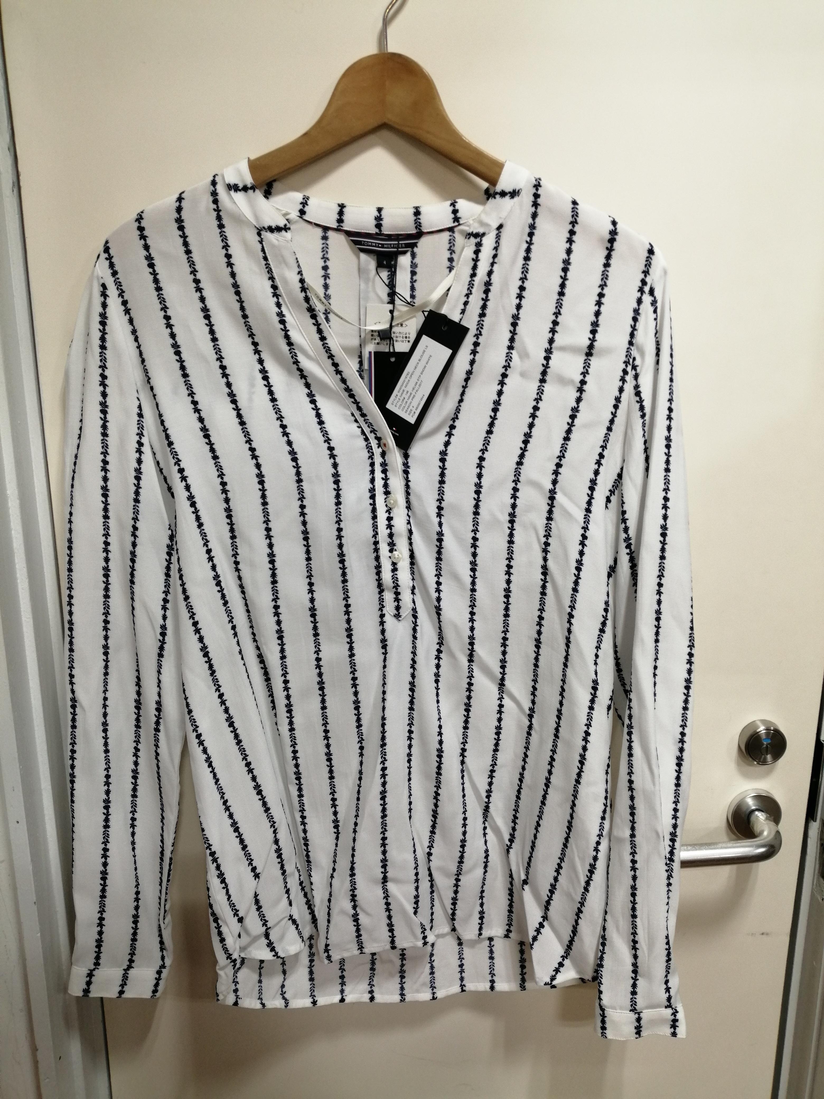 ハーフスナップシャツ|TOMMY HILFIGER
