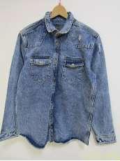 デニムシャツジャケット|ZARA