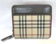 二つ折り財布 BURBERRY
