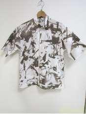 ジップアップSSシャツ CALVAN KLEIN