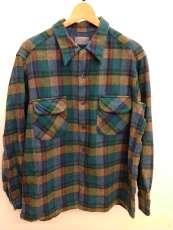 オープンカラーウールシャツ PENDLETON