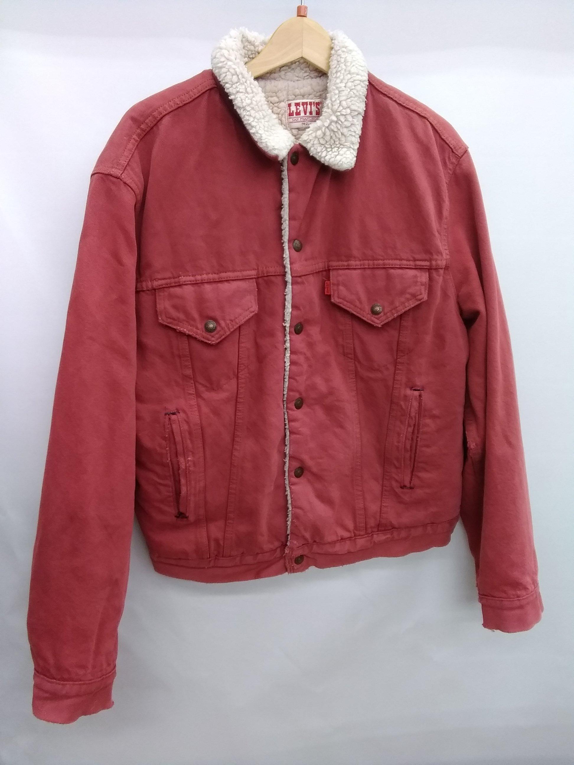 LEVI'S 後染めボアジャケット 80s|LEVI'S