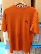 モックネックTシャツ STUSSY