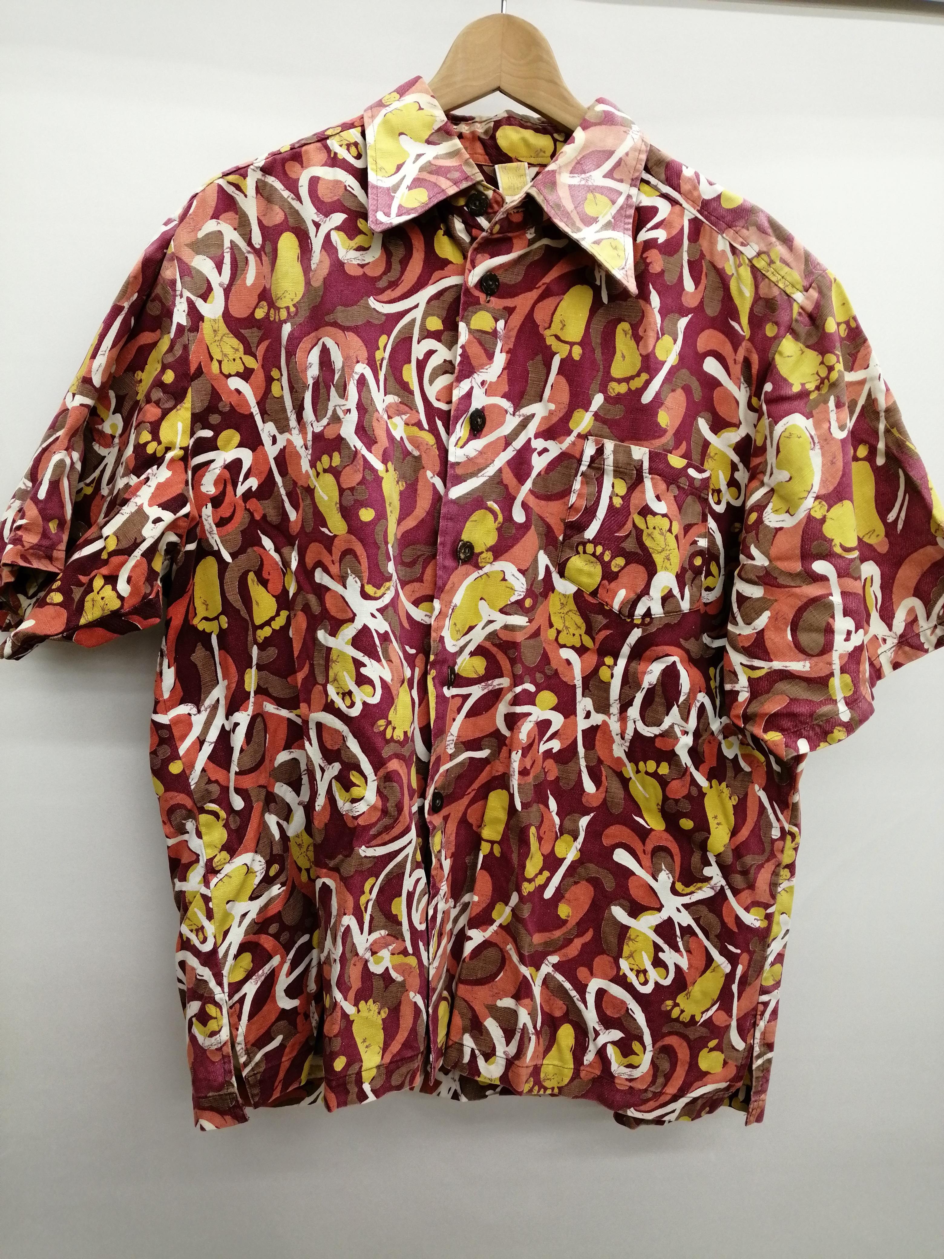 HANG TEN オールドコットンアロハシャツ|HANG TEN