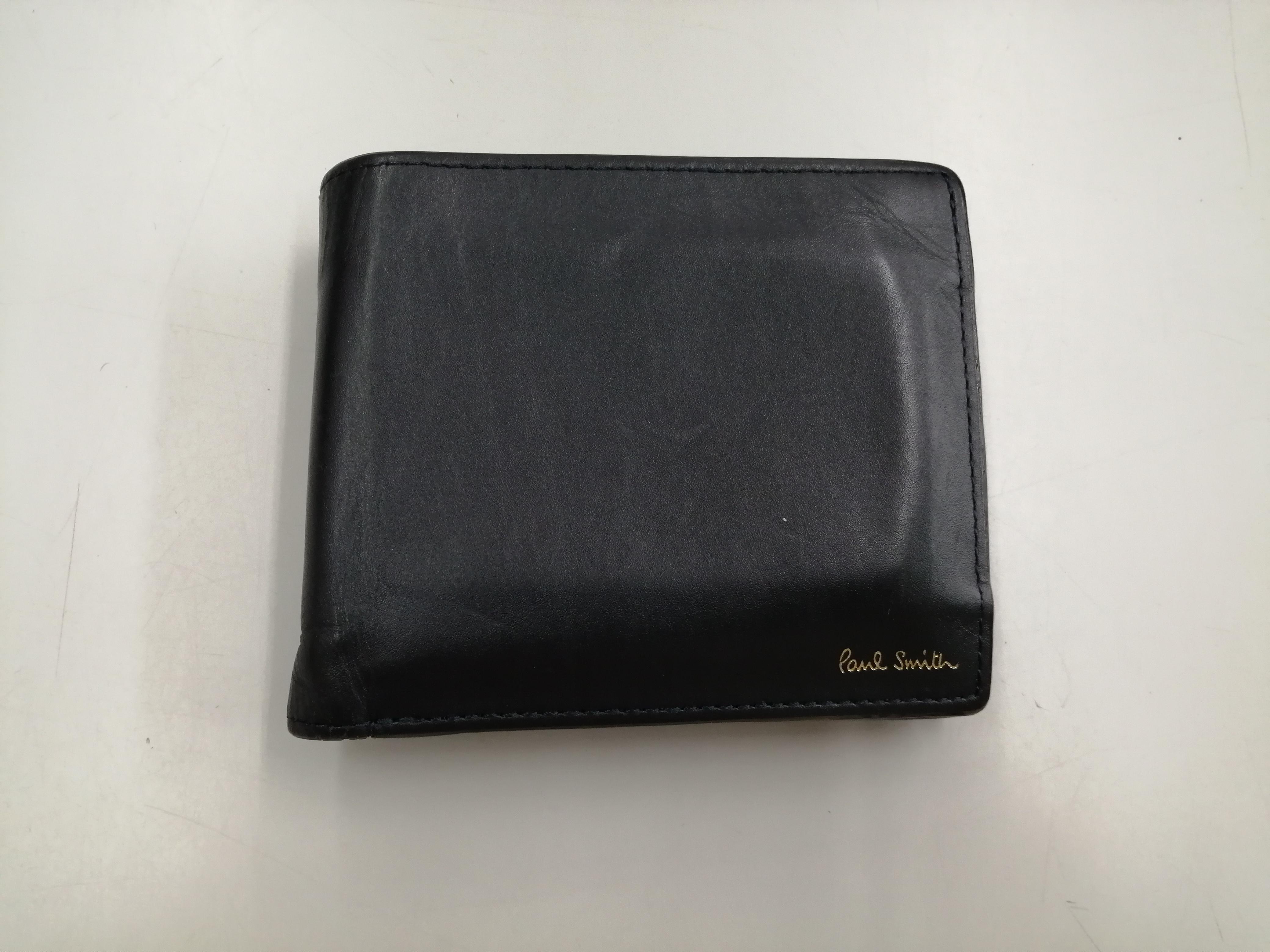 PAUL SMITH 二つ折り財布ブラック PAUL SMITH