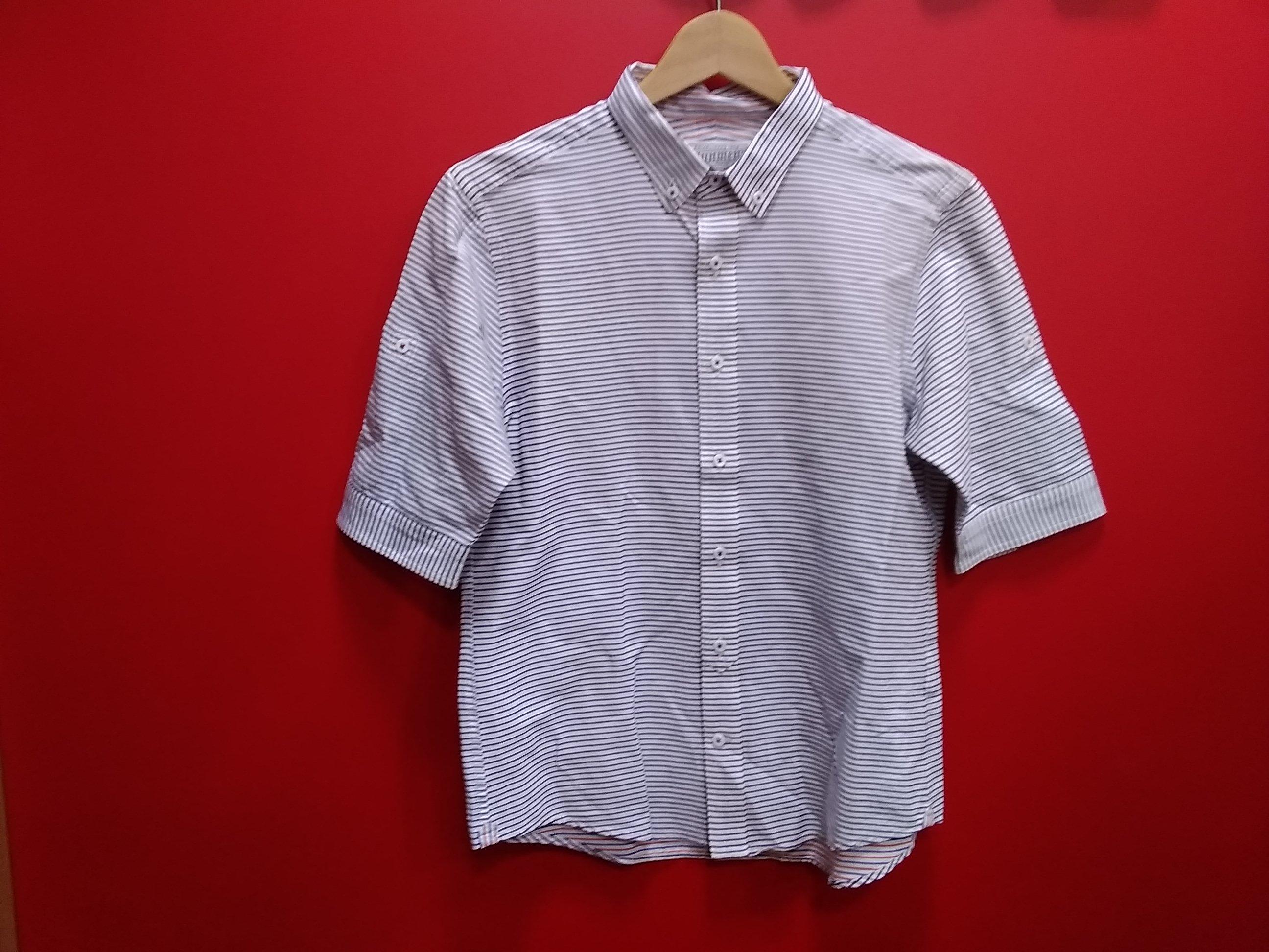 半袖ボーダーシャツ|JUNMEN