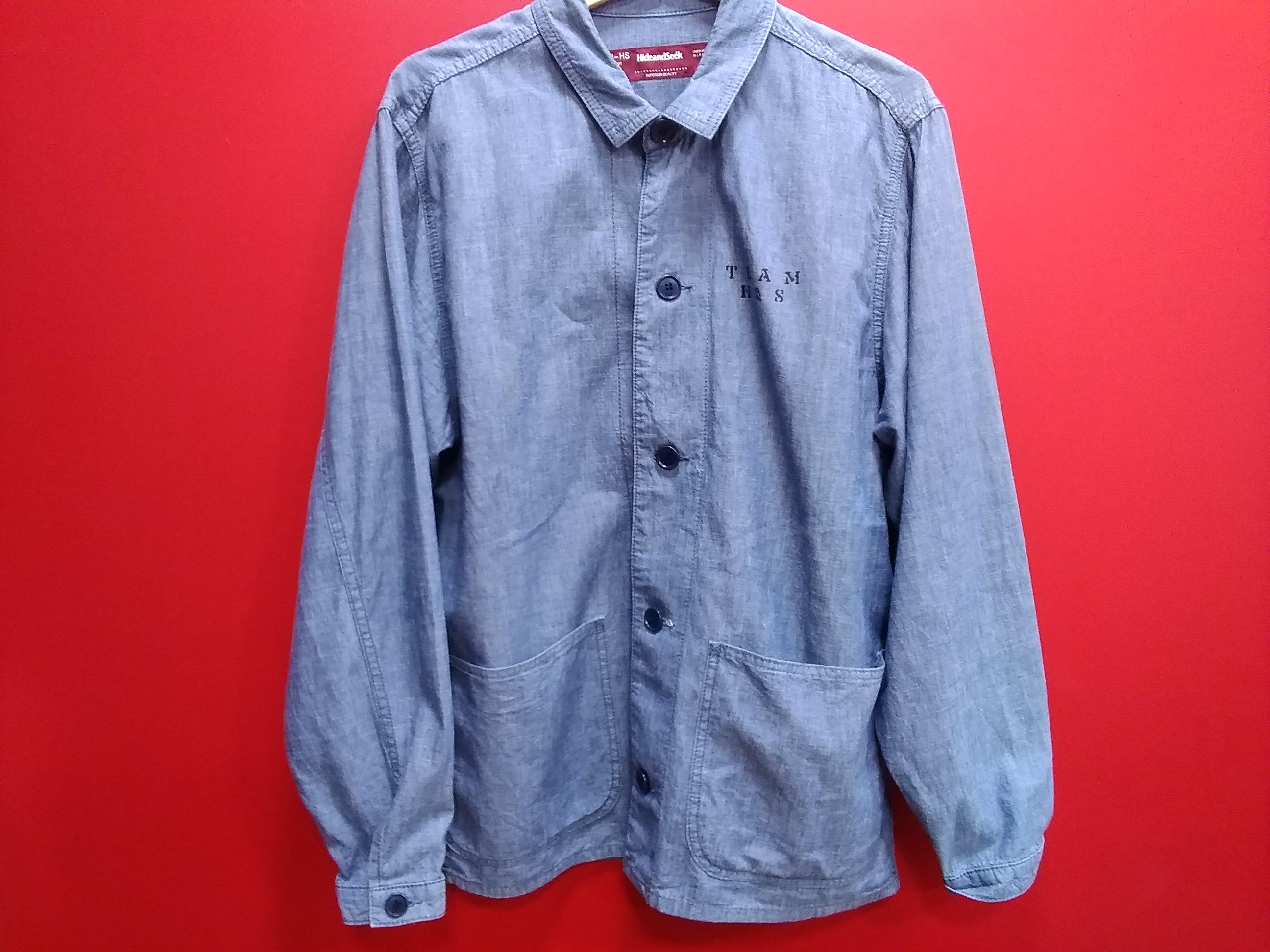 LSシャツジャケット|HIDE&SEEK