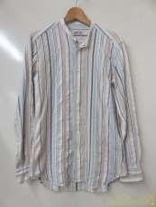 べヴィラクア L/Sバンドカラーシャツ|BEVILACQUA