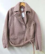 ボアライダースジャケット|H&M