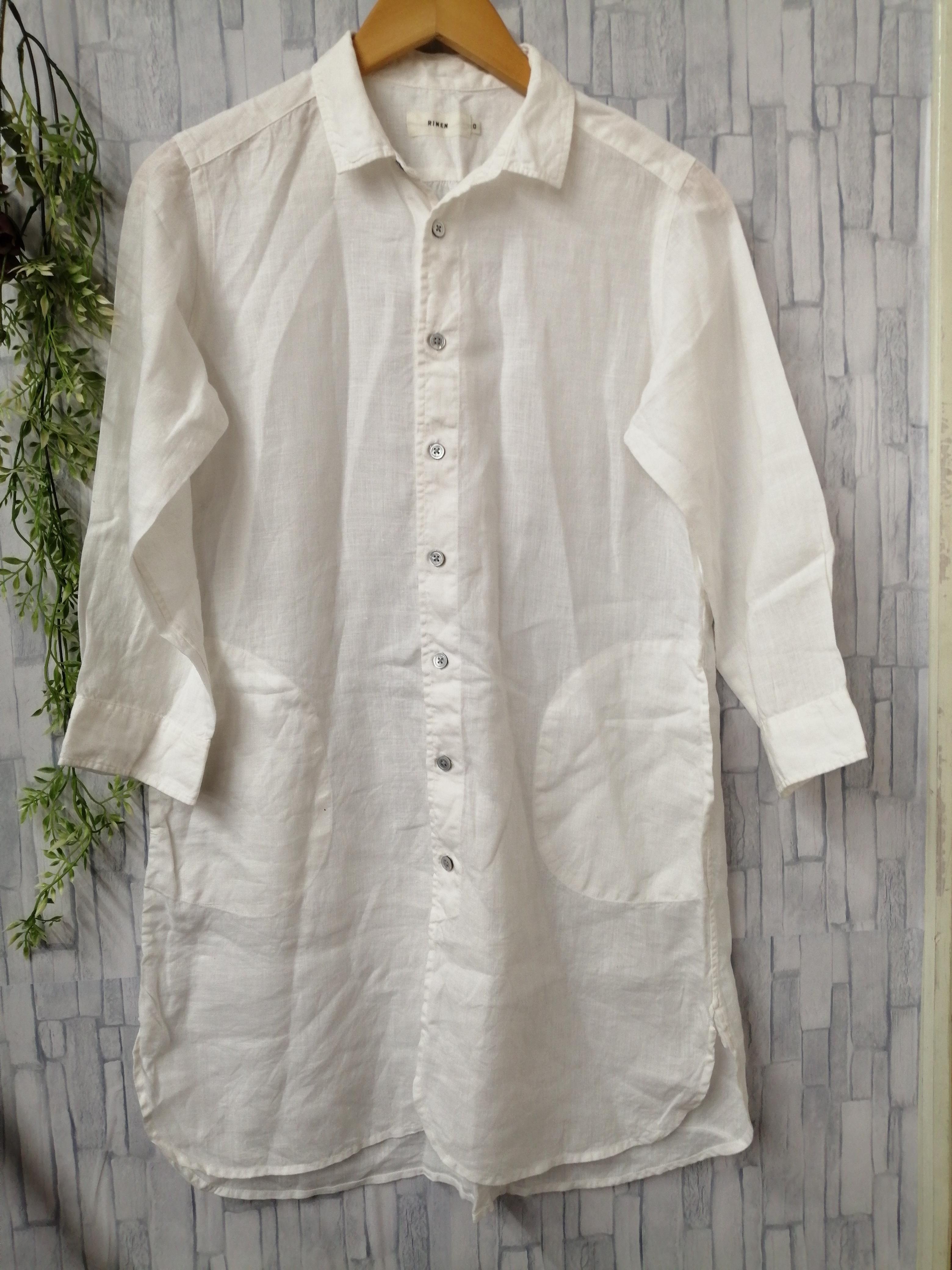 リネン L/Sシャツ|RINEN