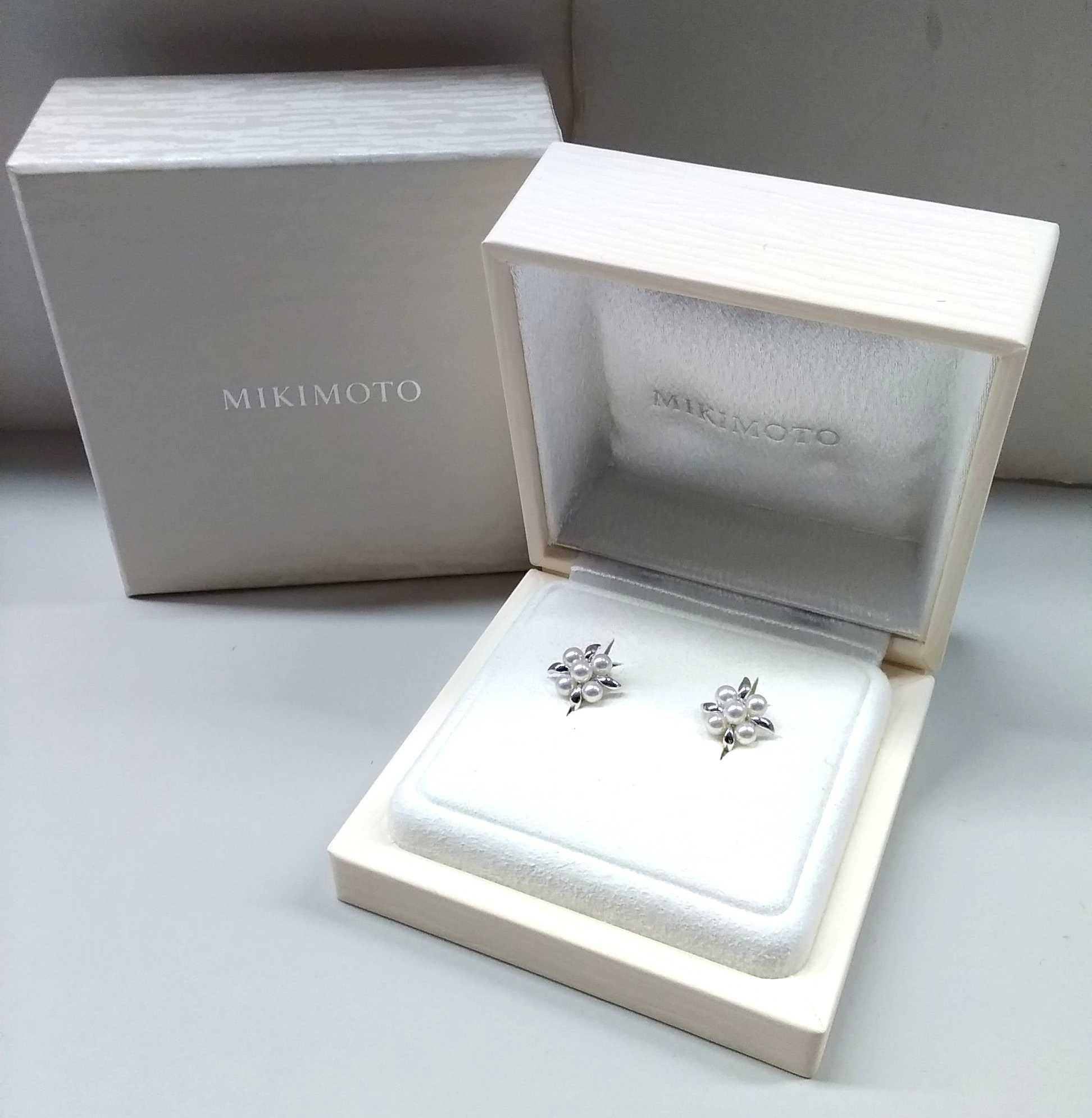 ミキモト イヤリング|MIKIMOTO