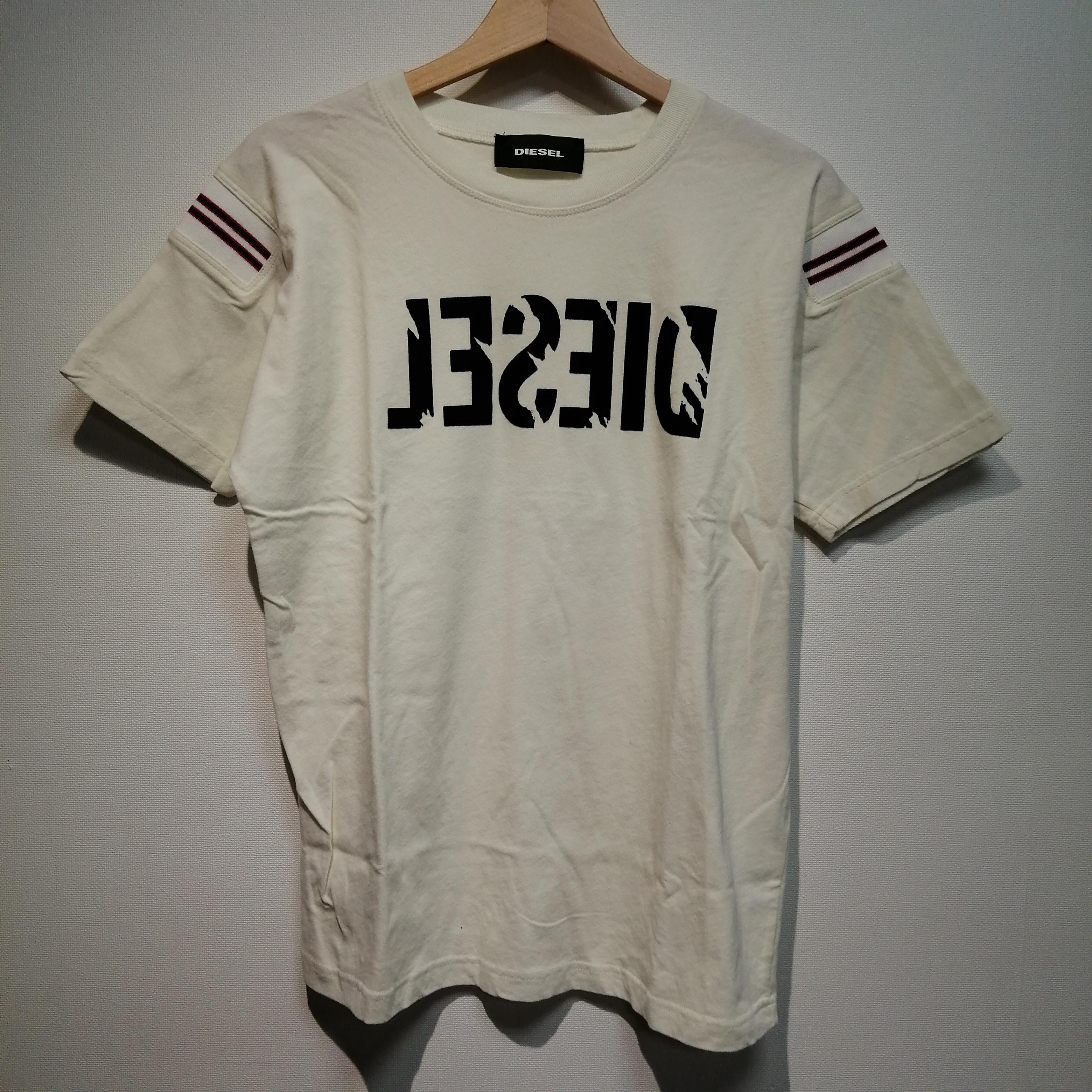 フロッキープリントTシャツ|DIESEL