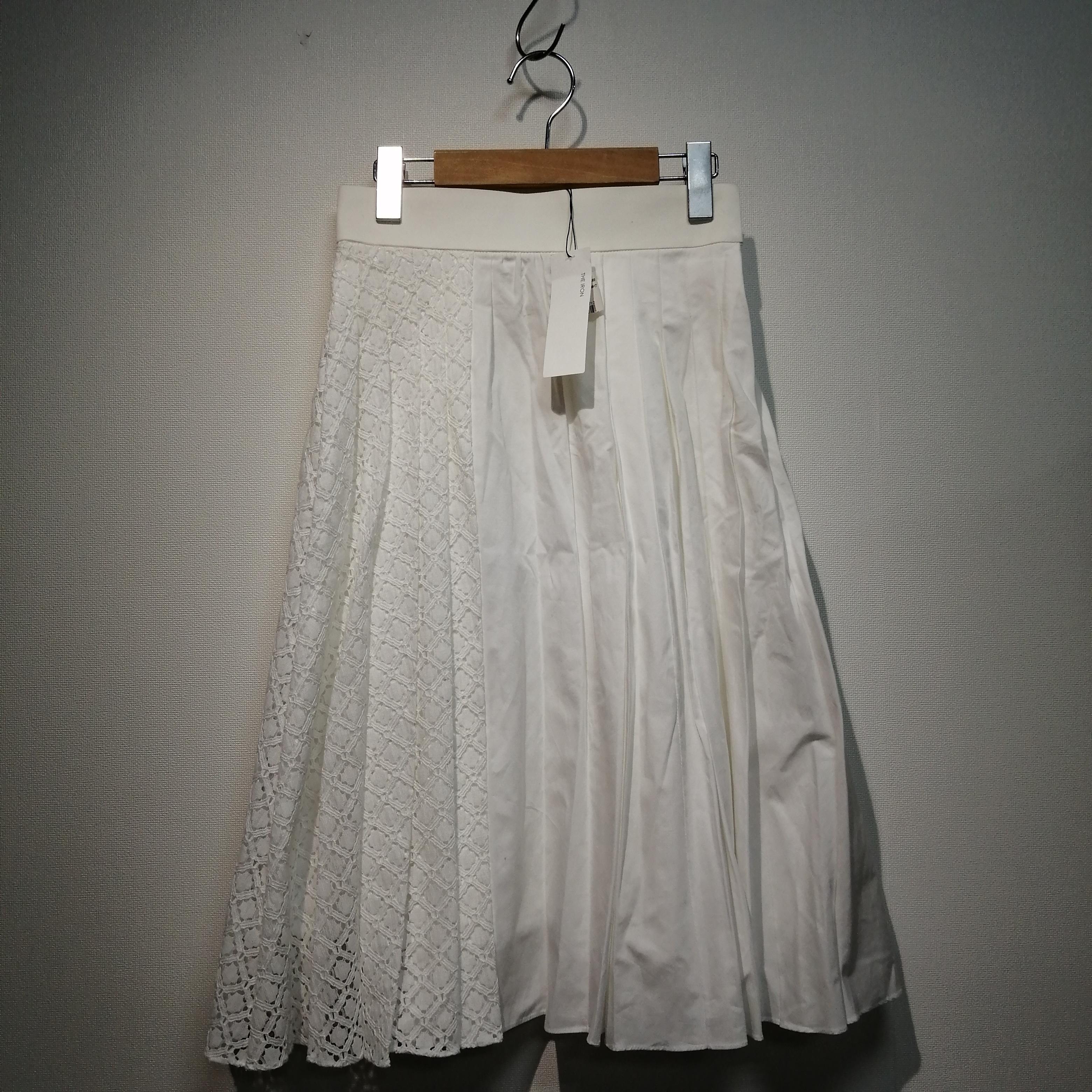 レース切替スカート THE IRON