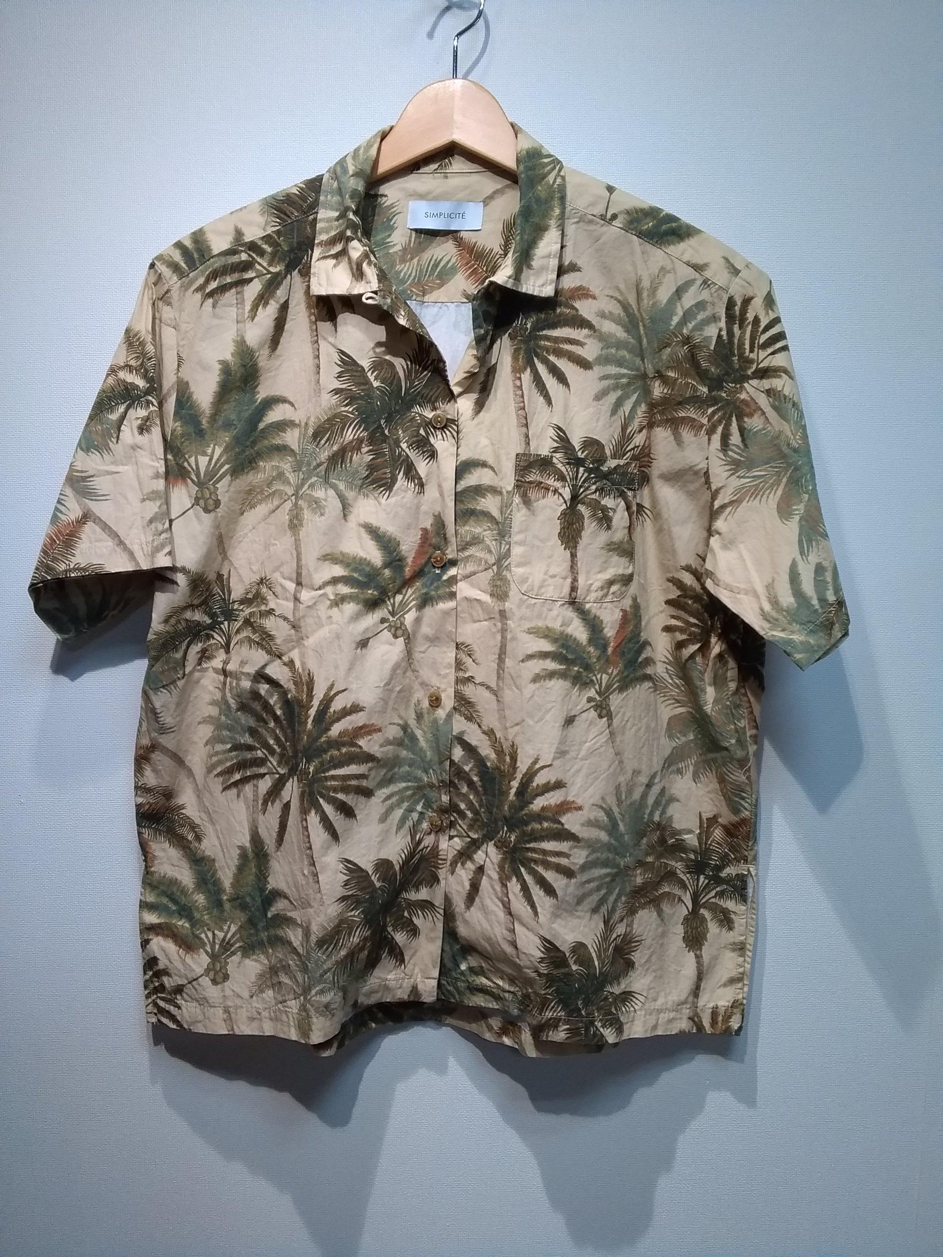 ショートスリーブシャツ SIMPLICITE