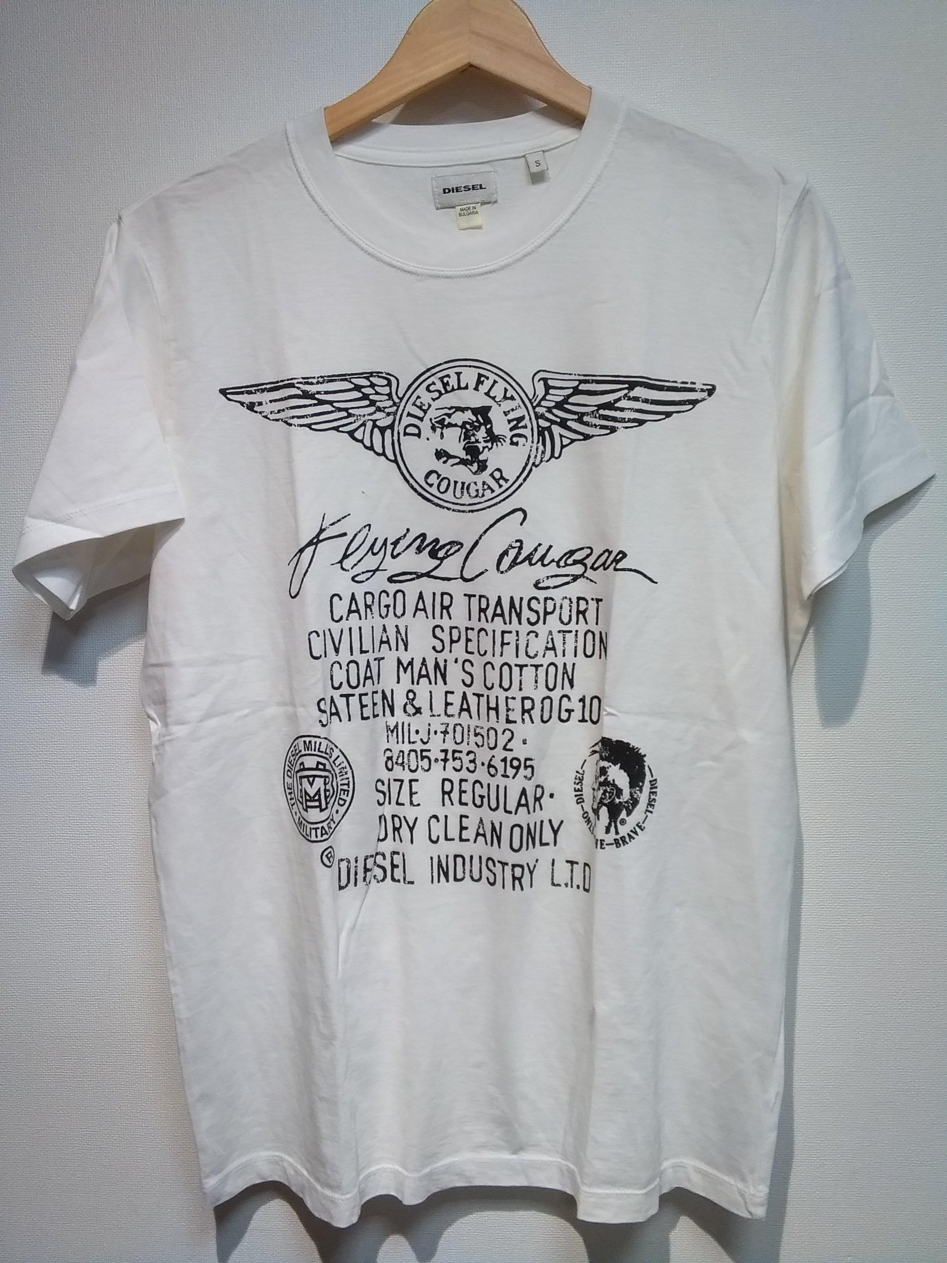 プリントTシャツ[DIESEL FLYING COUGAR]|DIESEL