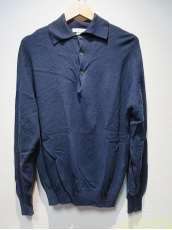 LSニットポロシャツ/M|JOHN SMEDLEY