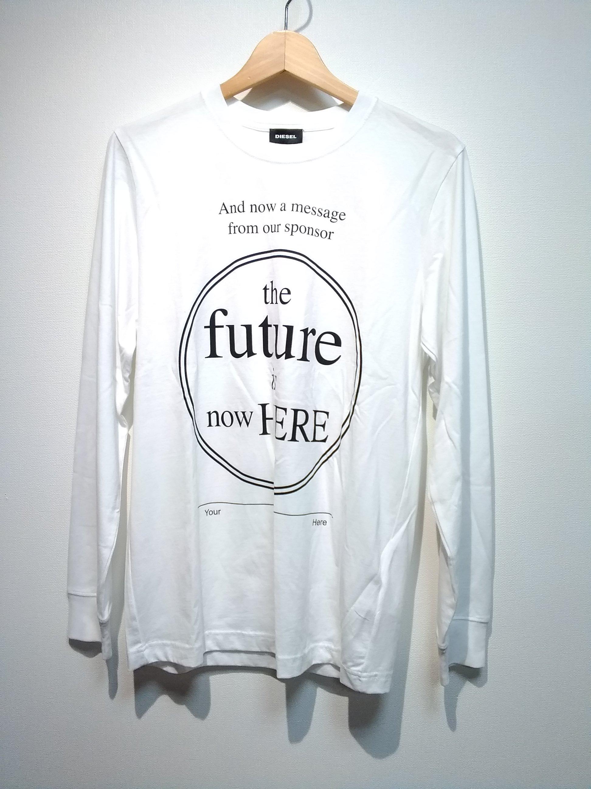 ロンT[THE FUTURE IS NOW HERE]|DIESEL