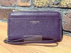 COACH ラウンドファスナー財布|COACH