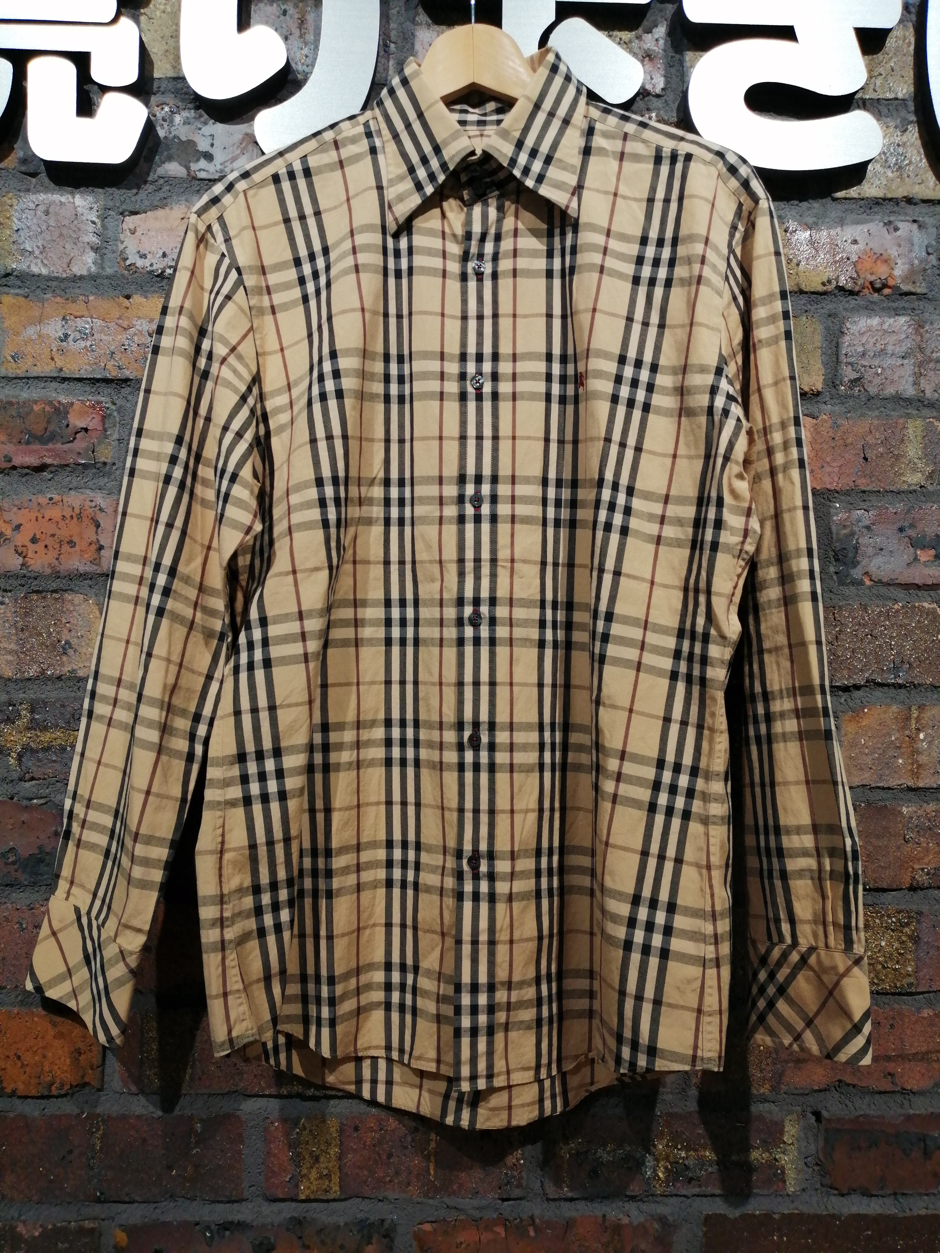 LSシャツ|BURBERRY BLACK LABEL