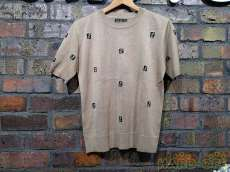 FENDI ニット地Tシャツ|FENDI