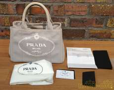 PRADA キャンバストート CANAPA|PRADA