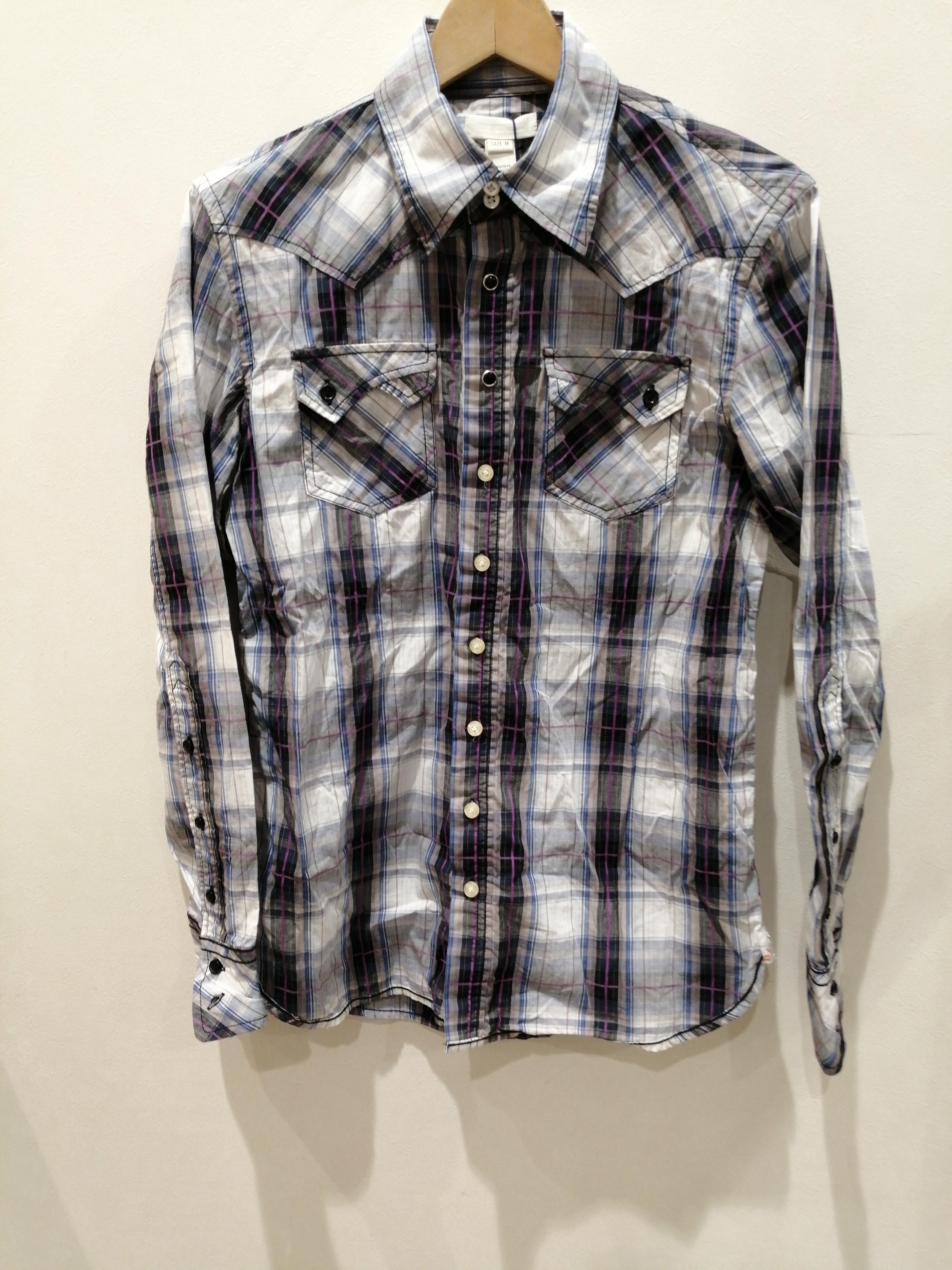 チェックシャツ|DIESEL