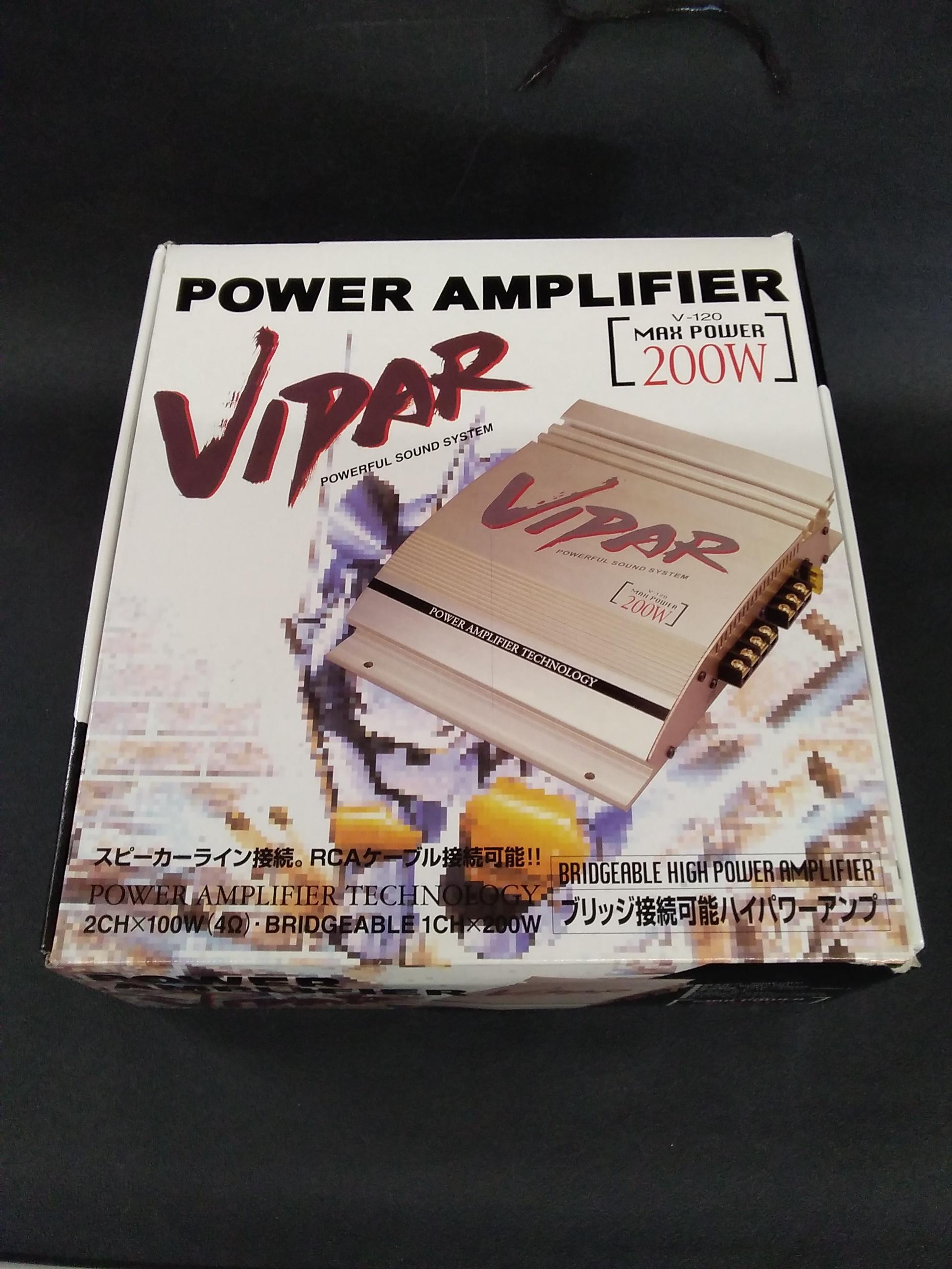 パワーアンプ|VIPAR