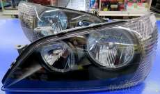 程度良好 アルテッツア メイクアップヘッドライト加工品|TOYOTA