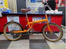 折りたたみ自転車 KAWAMURA