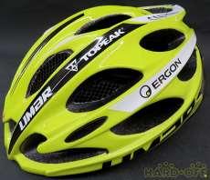 軽量!鮮やかなライムグリーン色のヘルメット 美品 LIMAR