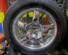 オフセット28 ランクルプラド用BRADLEY:タイヤセット|BRADLEY