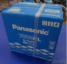 未使用品のカーバッテリー!|PANASONIC